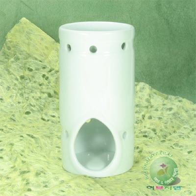 ERE버너아로마테라피용 아로마램프 도자기 램프 원통형 3040
